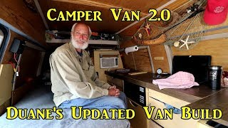 Duane's Updated Van Build!  Drawers Instead of Shelves #VANLIFE