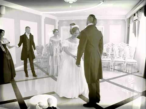 Ярославле сыграли свадьбу в стиле 19 века