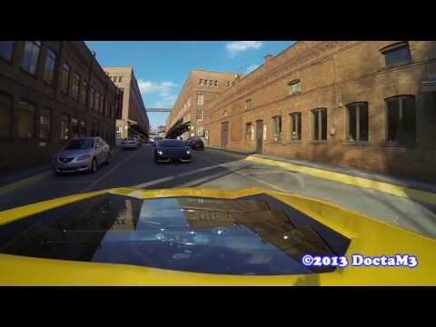 Lamborghini Aventador & LP560: 2 Bulls Meet & Cruise