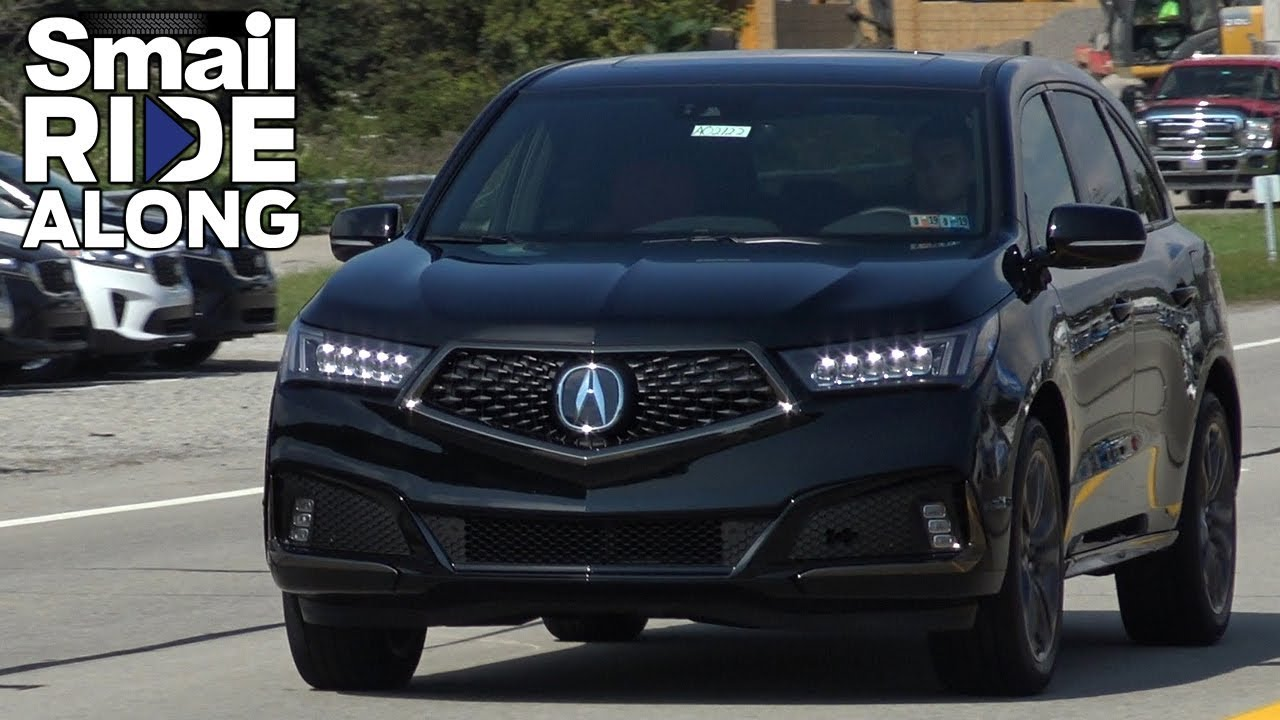2019 Acura Mdx A Spec Ride Along Review And Test Drive