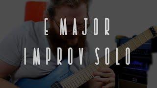 E Major Improv Solo