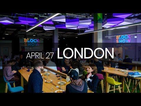 BlockShow Europe. Blockchain Meetup in London