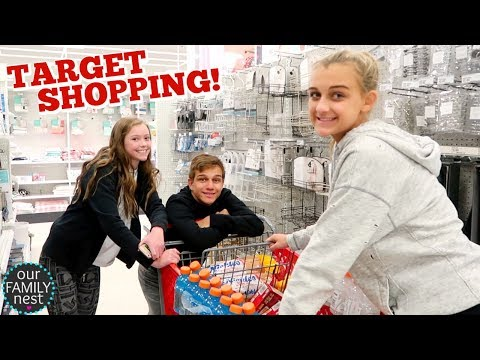 TARGET SHOPPING! WHAT DO WE BUY THIS TIME?