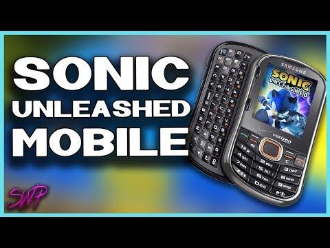 Sonic Unleashed's Weird Cellphone Port