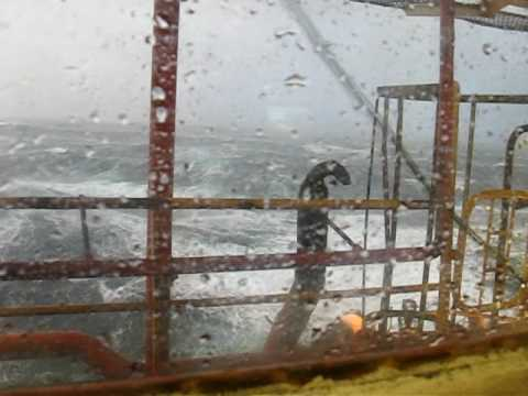 Large Waves from a Rig
