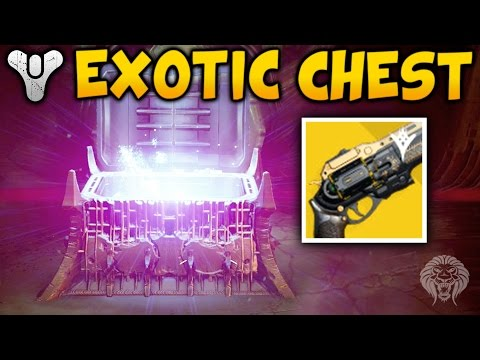 Destiny: KINGS FALL EXOTIC CHEST LOCATION! Exotic Raid Chest Tutorial & Loot Drop (The Taken King)