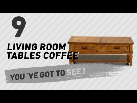 Klaussner Living Room Tables Coffee // New & Popular 2017