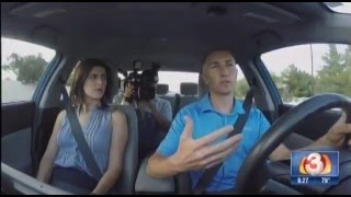 EyeTech Eye Tracking Technology for Automotive Distracted and Distracted Driving Story by Channel 3