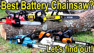 Best Battery Powered Chainsaw Brand? Let's find out! Milwaukee vs DeWalt, Makita, Ryobi & WORX