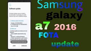 Samsung galaxy a7 2016 FOTA update good news for Samsung