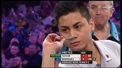 2015 Grand Slam of Darts Group H - Taylor vs Rodriguez pt1