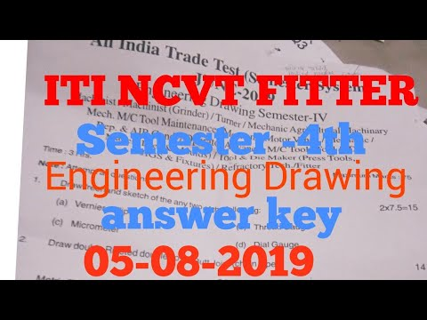 iti fitter engineering drawing question paper,    - Myhiton