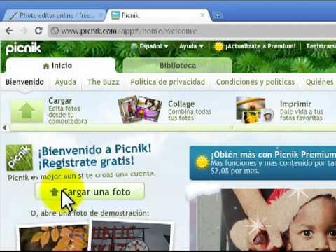 Pixlr y picnik programas para editar fotos gratis youtube for Programa para disenar interiores gratis