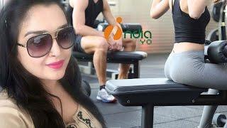 आम्रपाली दुबे पतली होने के लिए जिम में... II Amrapali Dubey Gym Workout II IndiaYo