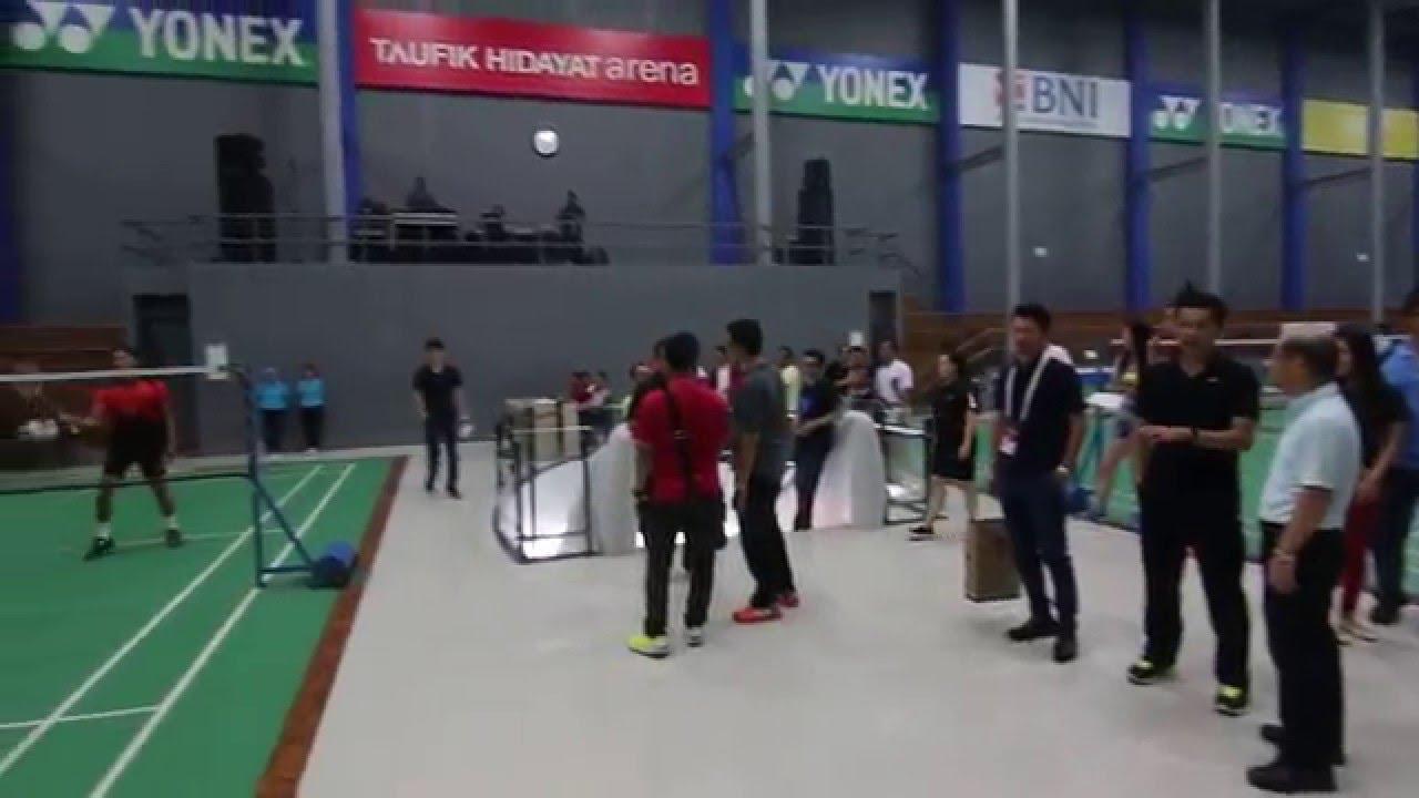 Taufik Hidayat Arena in Jakarta - YouTube