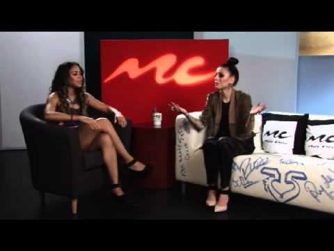 Cher Lloyd Visiting 'U&A' at Music Choice