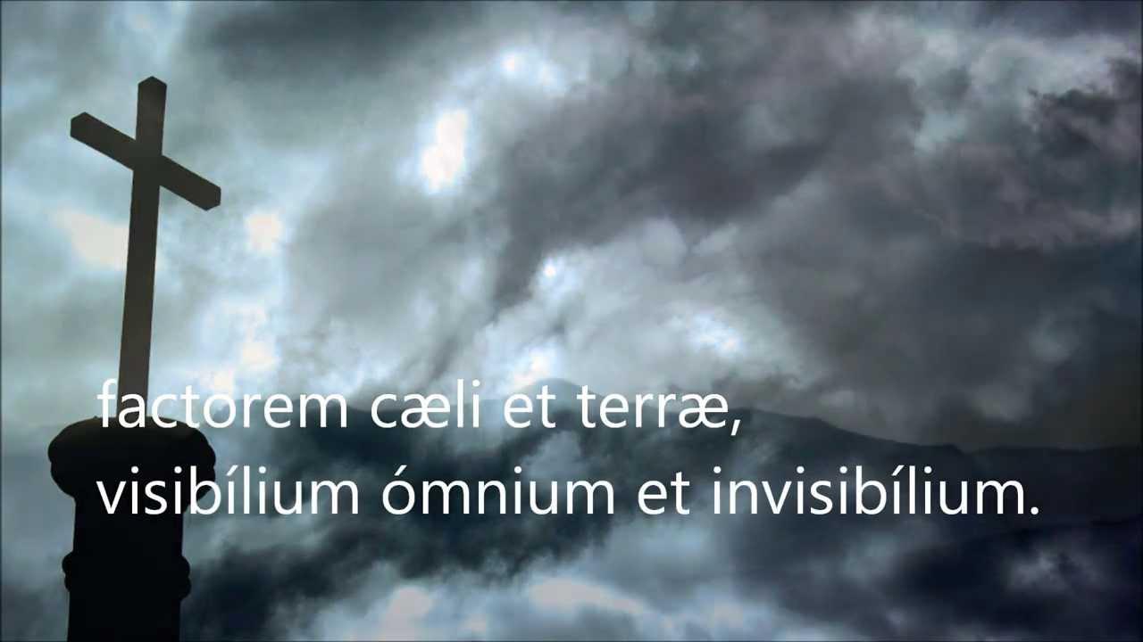credo en latin mp3