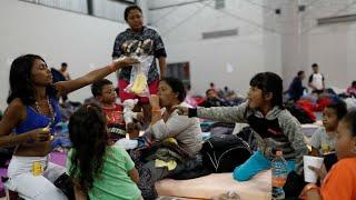 La caravana de migrantes pone a prueba a Tijuana