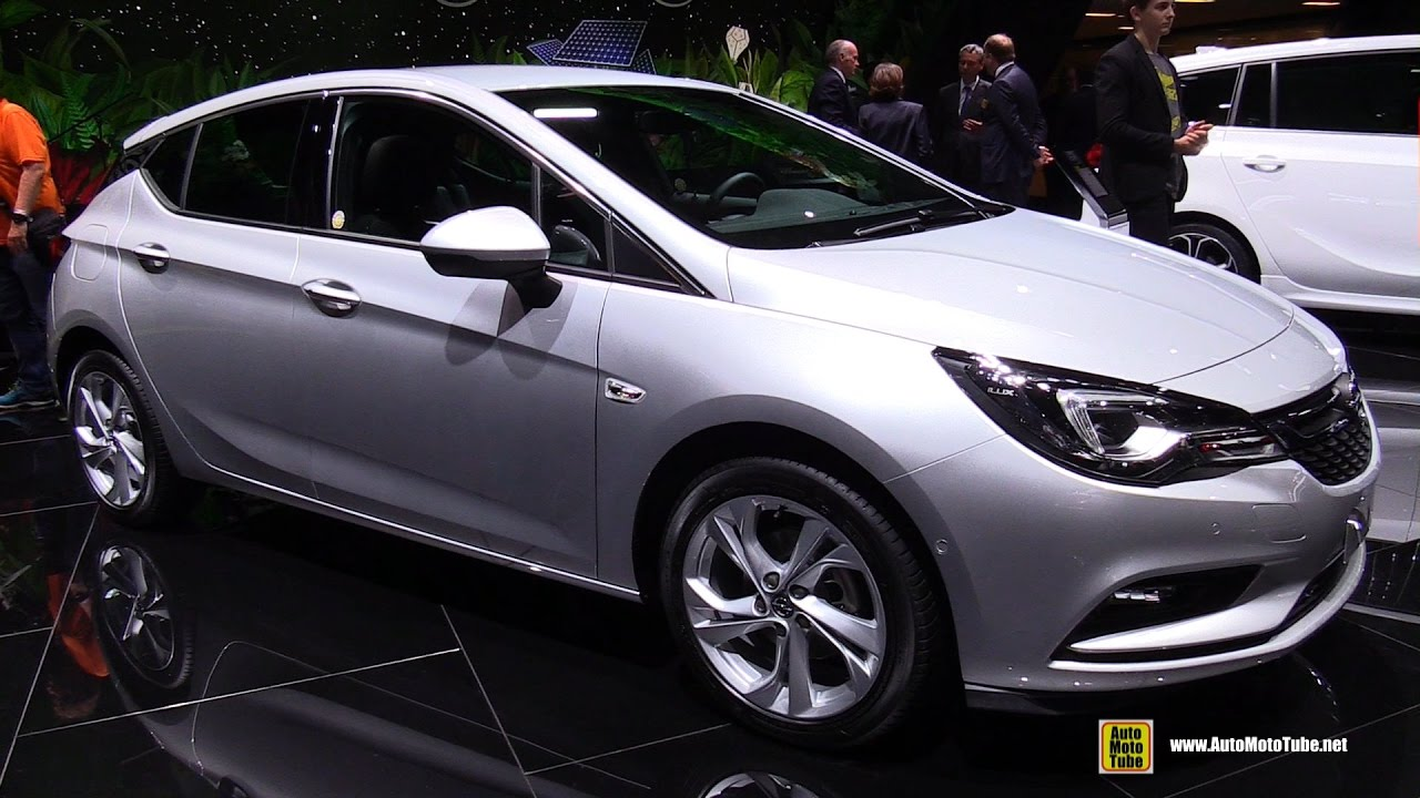 2017 opel astra 1 4 turbo exterior and interior for Interior opel astra 2017