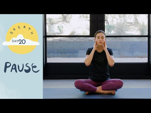 Day 20 - Pause | BREATH - A 30 Day Yoga Journey