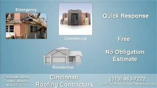 Cincinnati Roofing Contractors - Commercial Roof Repair Contractor in Cincinnati