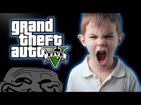 GTA 5 Kid Rages And Cries Over Destroyed Car