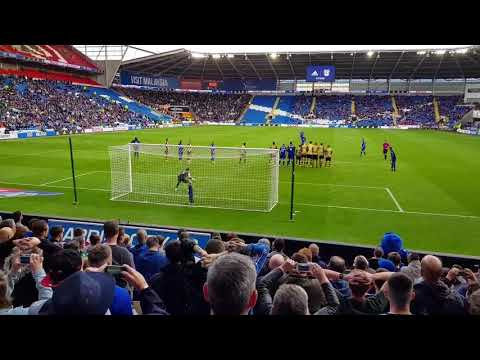 Bamba scores in 94th minute for Cardiff City