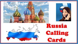 Russia Calling Cards