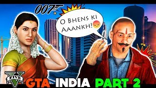 BHAI THE GANGSTER IS BACK 😎😎 Mission 3   FUNNY ANDROID GAMES IN HINDI INDIA GTA 5  Poor gamer clan