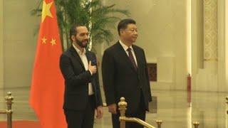 Inversión y cooperación agrícola centran la visita de Nayib Bukele a Pekín