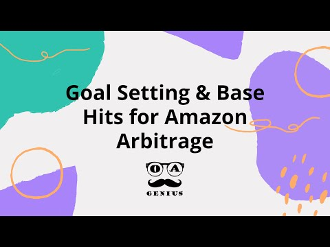 Amazon Dropshipping Growth Hack |  Goal Setting And Base Hits
