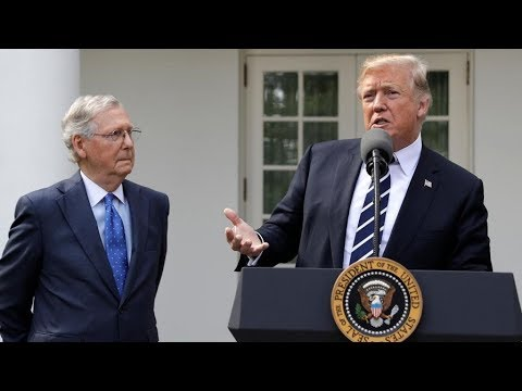 WATCH: President Donald Trump and Mitch McConnell Press Briefing