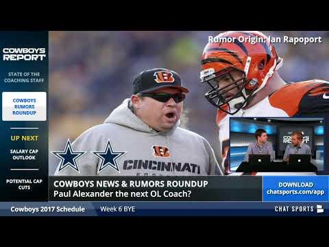 Dallas Cowboys Rumors: Latest On Rod Marinelli, Matt Eberflus, Paul Alexander, Jason Garrett & More