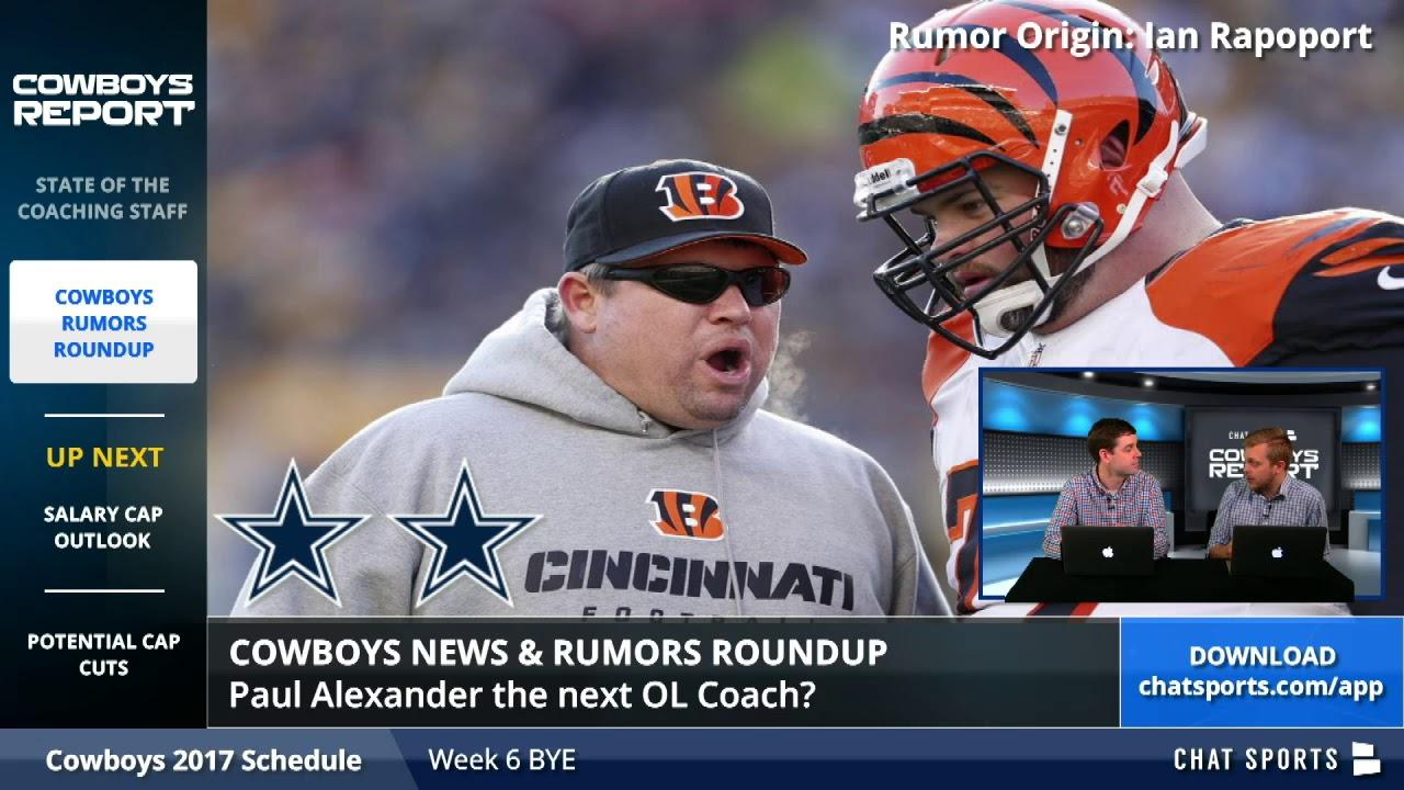 Dallas Cowboys Rumors: Latest On Rod Marinelli, Matt Eberflus ...