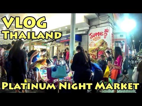 VLOG Thailand: Platinum Night Market | Bangkok