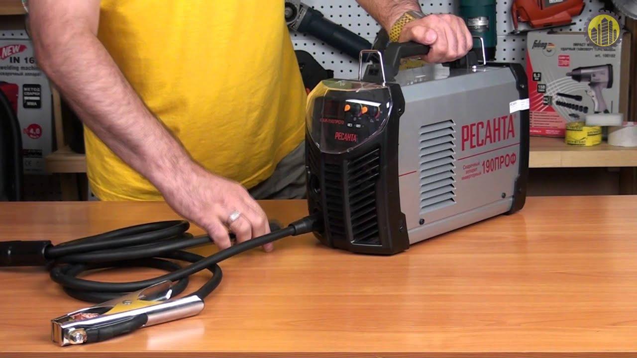 Сварочный аппарат ресанта с проводами генератор бензиновый tss sgg 6500e