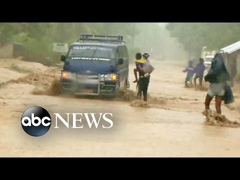 Hurricane Matthew Leaves Devastation, Destruction in Haiti