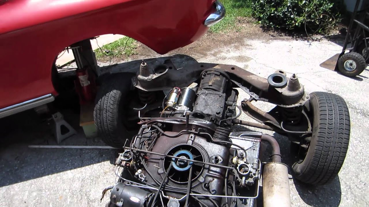 pulling a corvair engine in four and a half minutes 7 3 12 rh youtube com 1966 Chevy Corvair Interior Corvair Race Engines