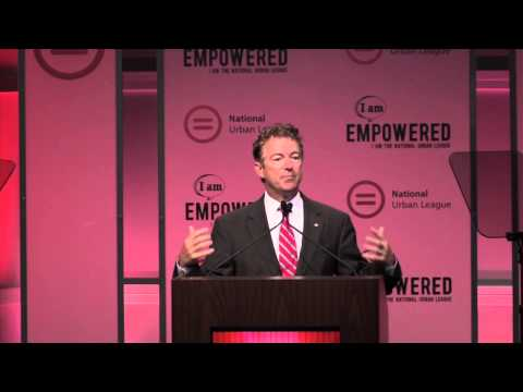 Sen. Rand Paul Speaks at the 2014 National Urban League Conference