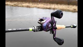 Покидушки на воде катушка Lurestar N9 и удилище SHARP WEAPON 662ML
