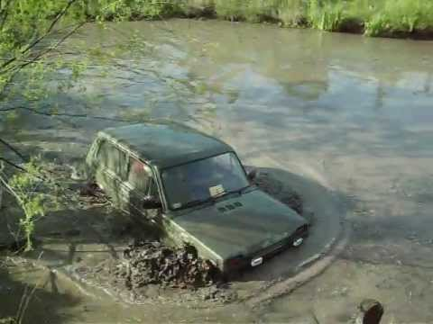 lada niva 4x4 extreme offroad water mud part 1 youtube. Black Bedroom Furniture Sets. Home Design Ideas