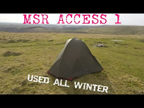 MSR Access 1 Review in Britain | 4-Season Tent