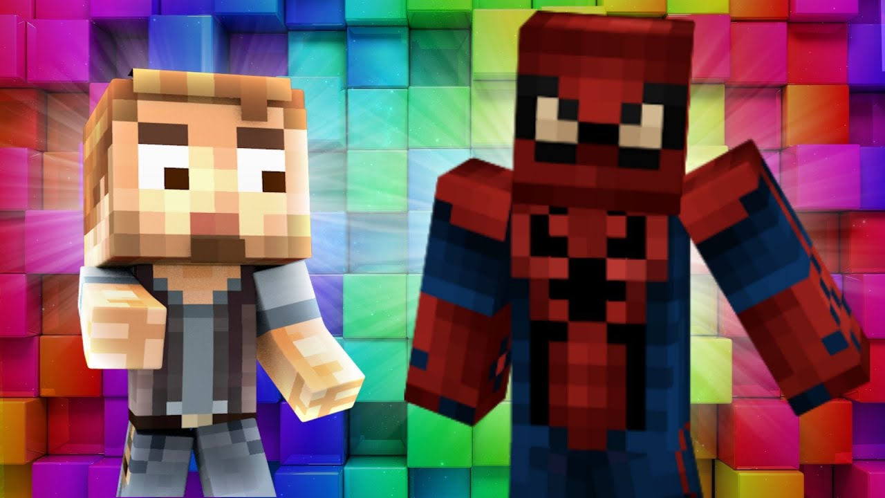 Minecraft - WHO'S YOUR DADDY? - BABY SPIDERMAN BLOWS UP ...