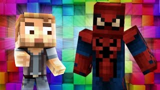 Minecraft - WHO'S YOUR DADDY? - BABY SPIDERMAN BLOWS UP SPIDERS!