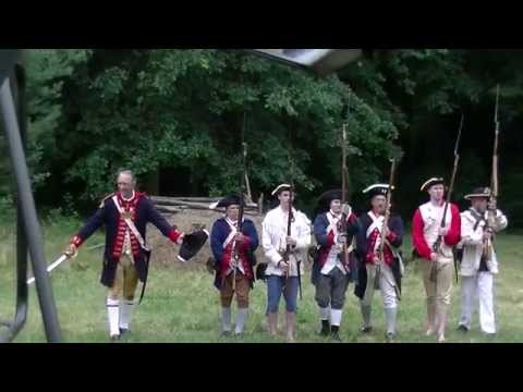 Revolutionary War Ohio Territory Re-enactment Alliance Ride Through History 2014.