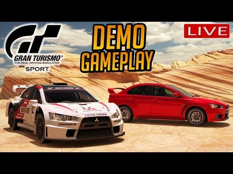 Gran Turismo Sport: Demo Playthrough (Turned to a Forza 7 Stream Instead, GT SPORT Servers DOWNgt)