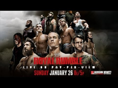 nL Live on Twitch.tv - WWE Royal Rumble 2014 [WWE 2K14 Simul