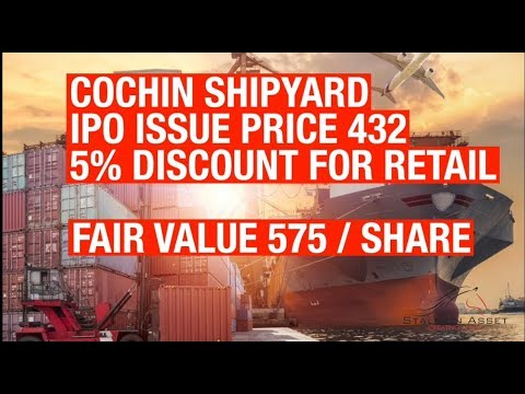 Cochin Shipyard IPO by Stallion Asset