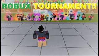 ROBUX TOURNAMENT!! | Roblox: Dragon Ball Z Final Stand