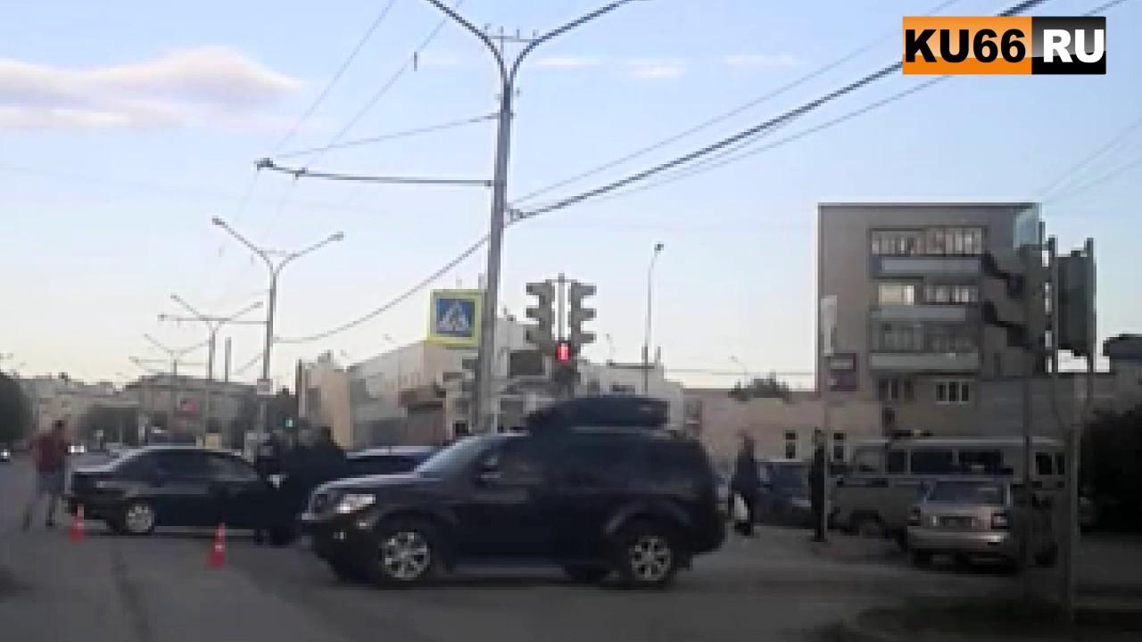 ДТП на Победы-Павлова